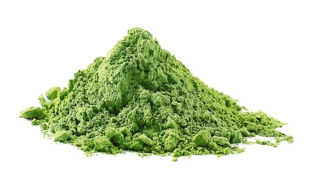 Tè verde matcha in polvere