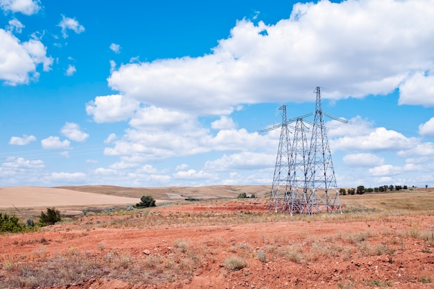 Supporti per la trasmissione di potenza nel deserto