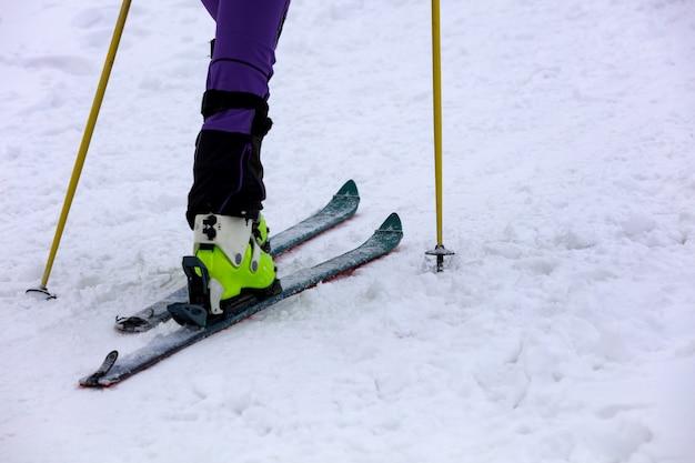 Praticare lo sci di fondo