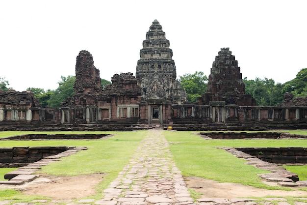 Parco storico di prasat hin phimai nella provincia di nakhon ratchasima, tailandia