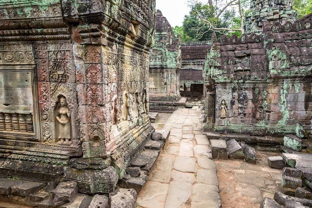 Tempio di preah khan in angkor wat a siem reap, cambogia