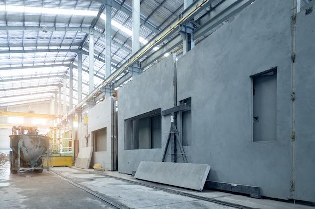 Prodotto di manifattura in cemento prefabbricato per edilizia industriale