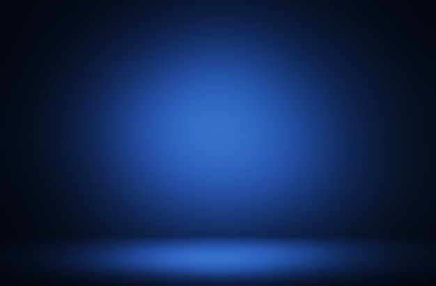 Sfondo di visualizzazione del prodotto di illuminazione blu premium