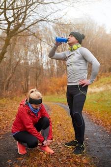 Prepararsi per la corsa su lunghe distanze