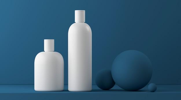 Modello di presentazione del prodotto cosmetico