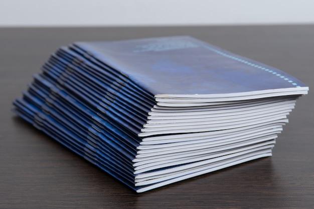 Opuscoli stampati dalla tipografia
