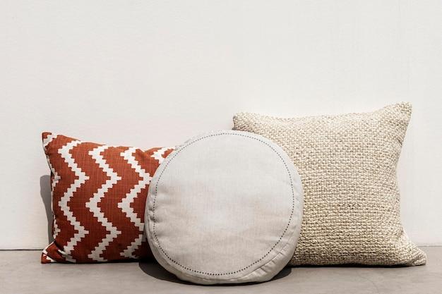 Cuscini stampati design mediterraneo per interni