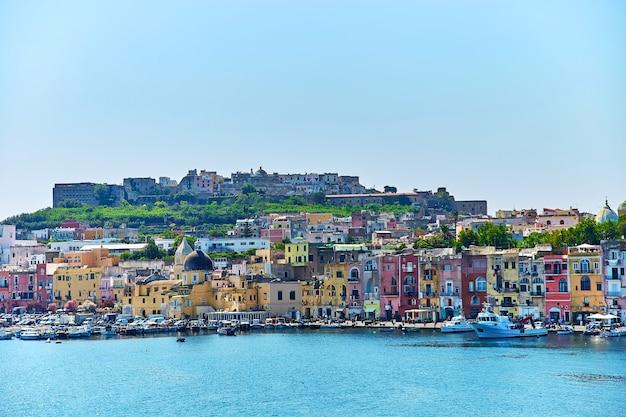 Isola di procida, napoli, italia
