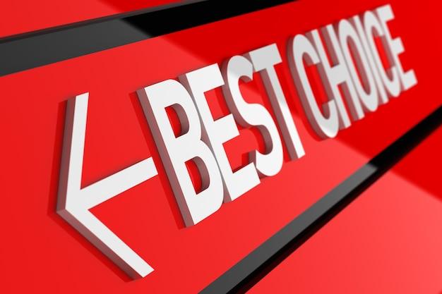 Pulsante di confronto etichetta scelta migliore garanzia di qualità del prodotto