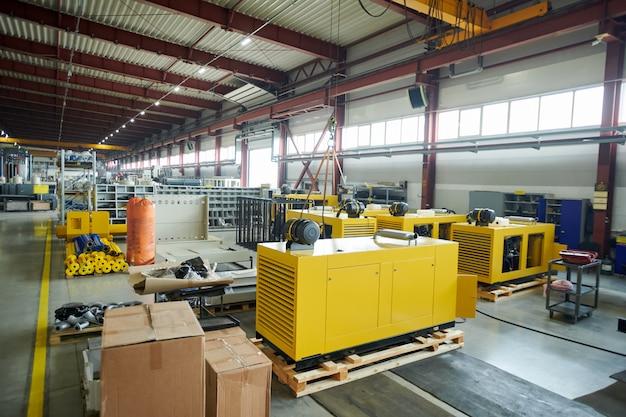 Workshop di produzione nello stabilimento