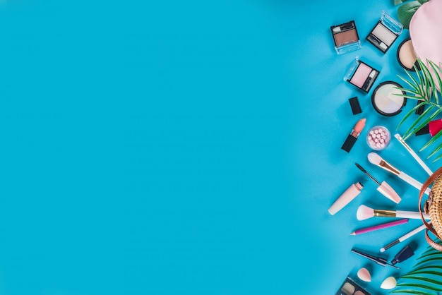 Set di cosmetici per il trucco professionale