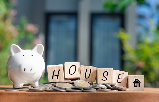 Risparmio di denaro per la casa