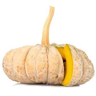 Zucca isolato su sfondo bianco