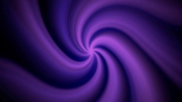 Spirale di movimento astratto viola con rumore in stile anni '80, sfondo retrò. stile di illustrazione 3d di gioco dinamico elegante e lussuoso