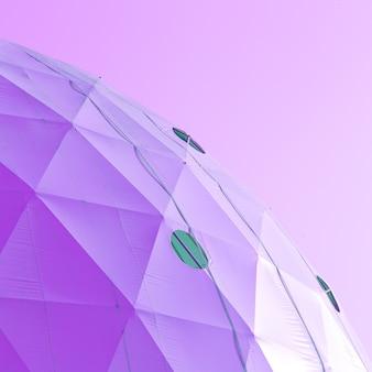 Ciotola viola. umore viola. design artistico minimale