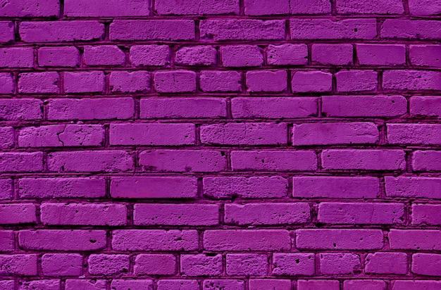 Superficie di struttura del muro di mattoni viola