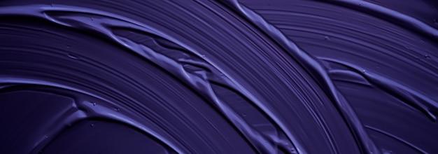 Sfondo crema viola texture prodotto cosmetico e sfondo per il trucco per il design di banner per le vacanze di marca di bellezza di lusso arte astratta della parete o pennellate di vernice artistica
