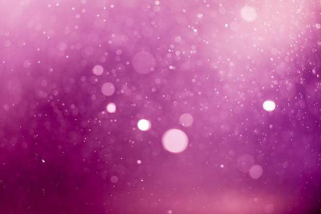 Sfondo bokeh luci viola.