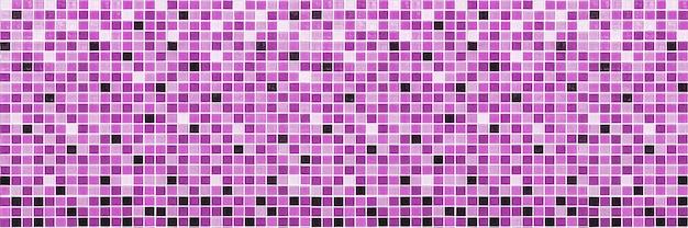 Texture mosaico viola per sfondo o piastrelle lussuose per pavimenti e carta da parati design decorativo