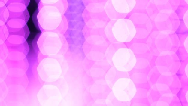 Festival di luci di stringa viola su luci di festa di lampadine vibranti lampione