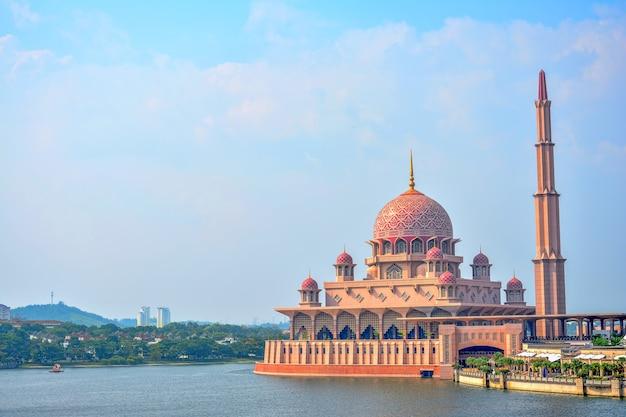 Moschea di putra a putrajaya, malesia