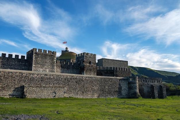 Castello di rabati in georgia, punto di riferimento storico