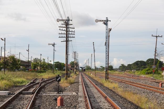 Pali ferroviari e telegrafici