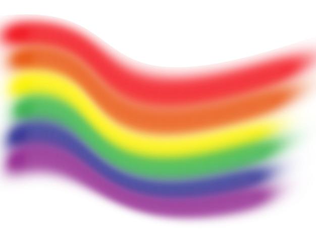 Bandiera arcobaleno lgbt genere minoranza simbolo diversità di genere gay e lesbica