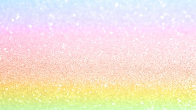 Sfondo glitterato arcobaleno