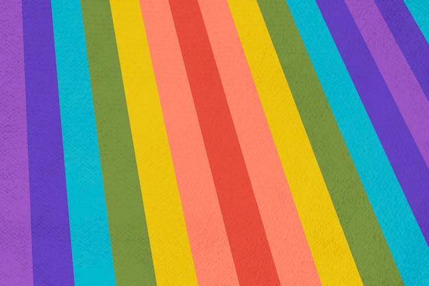 Sfondo fantasia strisce arcobaleno