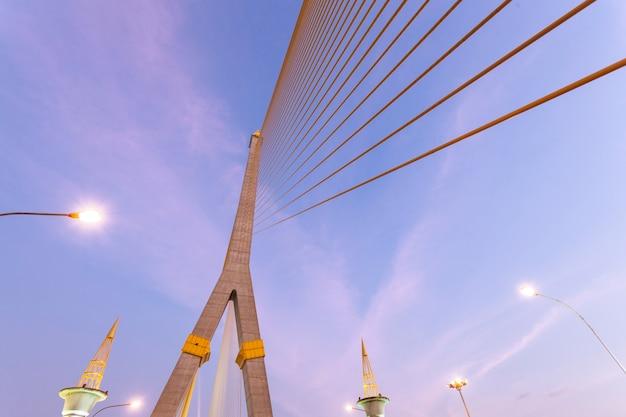 Rama viii bridge in serata