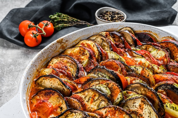 Ratatouille, piatto di verdure fatto in casa