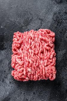 Carne di manzo cruda, carne macinata