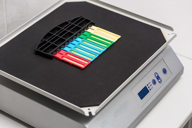 Striscia reattiva per analisi delle urine in laboratorio