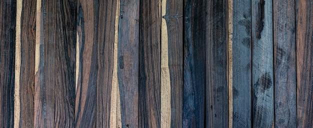 Vero legno nero a strisce per la decorazione d'interni con stampe fotografiche