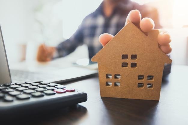 Immobiliare vendita casa concetto