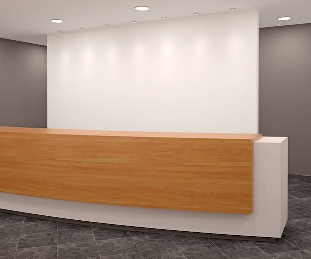 Ricevimento in ufficio moderno