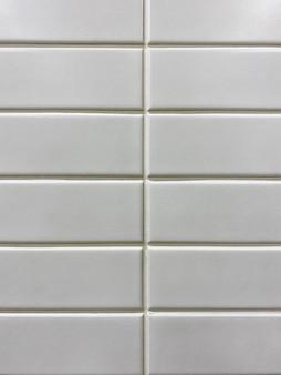 Sfondo rettangolo piastrelle mosaico rettangolo bianco texture sfondo piastrelle del bagno