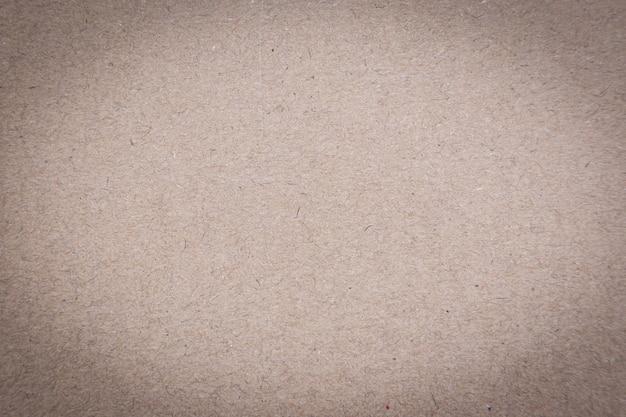 Texture di carta marrone riciclata o sfondo di carta