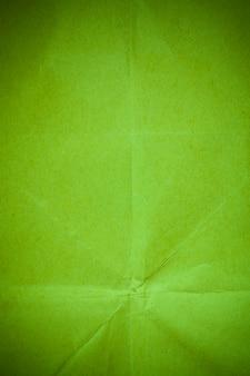 Sfondo di carta verde riciclata.