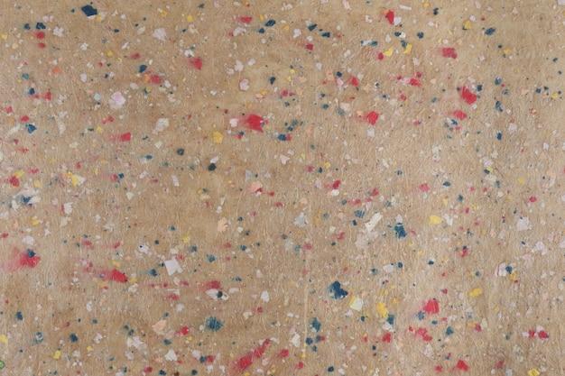 Texture di carta riciclata fatta a mano.