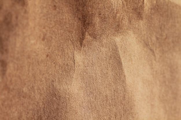 Carta riciclata di colore marrone da vicino texture