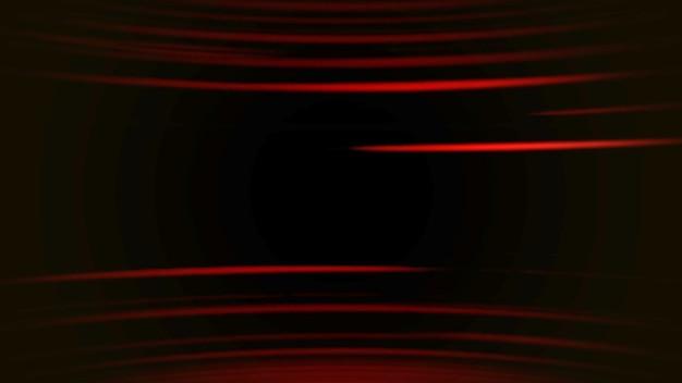 Linee di movimento astratte rosse con rumore in stile anni '80, sfondo retrò. stile di illustrazione 3d di gioco dinamico elegante e lussuoso