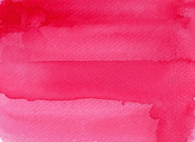 Sfondo rosso acquerello astratto.