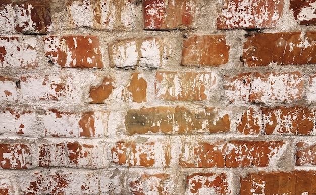 Trama di mattoni rossi. trama di pietra. messa a fuoco selettiva.natura.texture