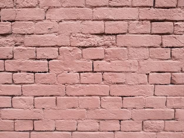 Struttura del primo piano del muro di mattoni rossi. muro di texture. sfondo posteriore.