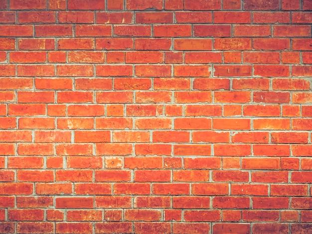 Bello stile d'annata semplice semplice del sottotetto del muro di mattoni rosso del fondo di struttura della decorazione