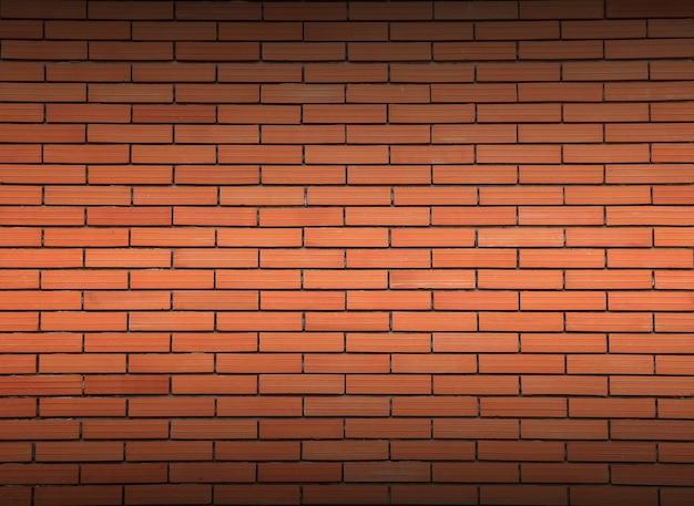 Struttura del muro di mattoni rossi