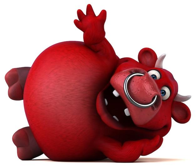 Red bull - illustrazione 3d