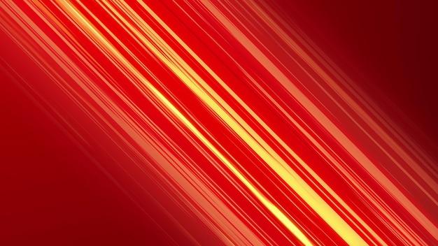 Linee di velocità anime diagonali rosse